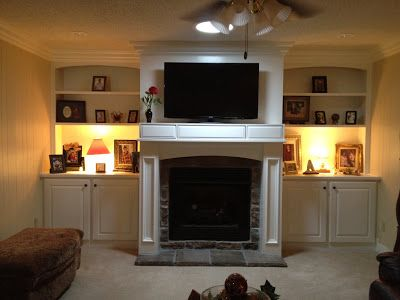 At Home with Kelsey: Fireplace Remodel