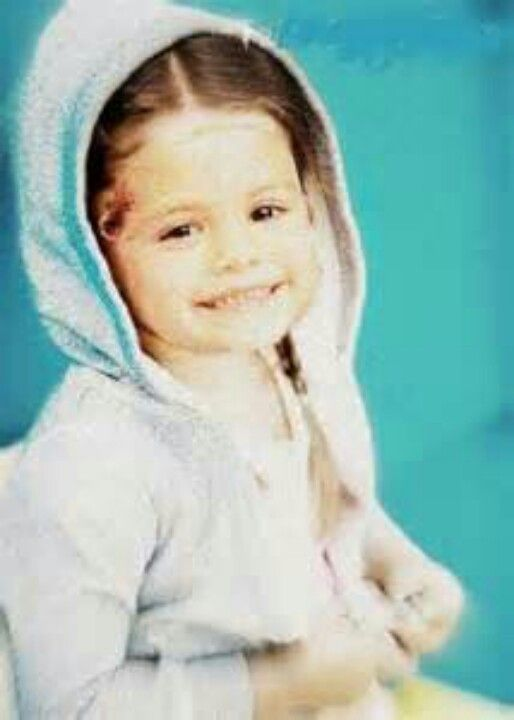 Young Selena Gomez. She is the Cutest little girl in the world.