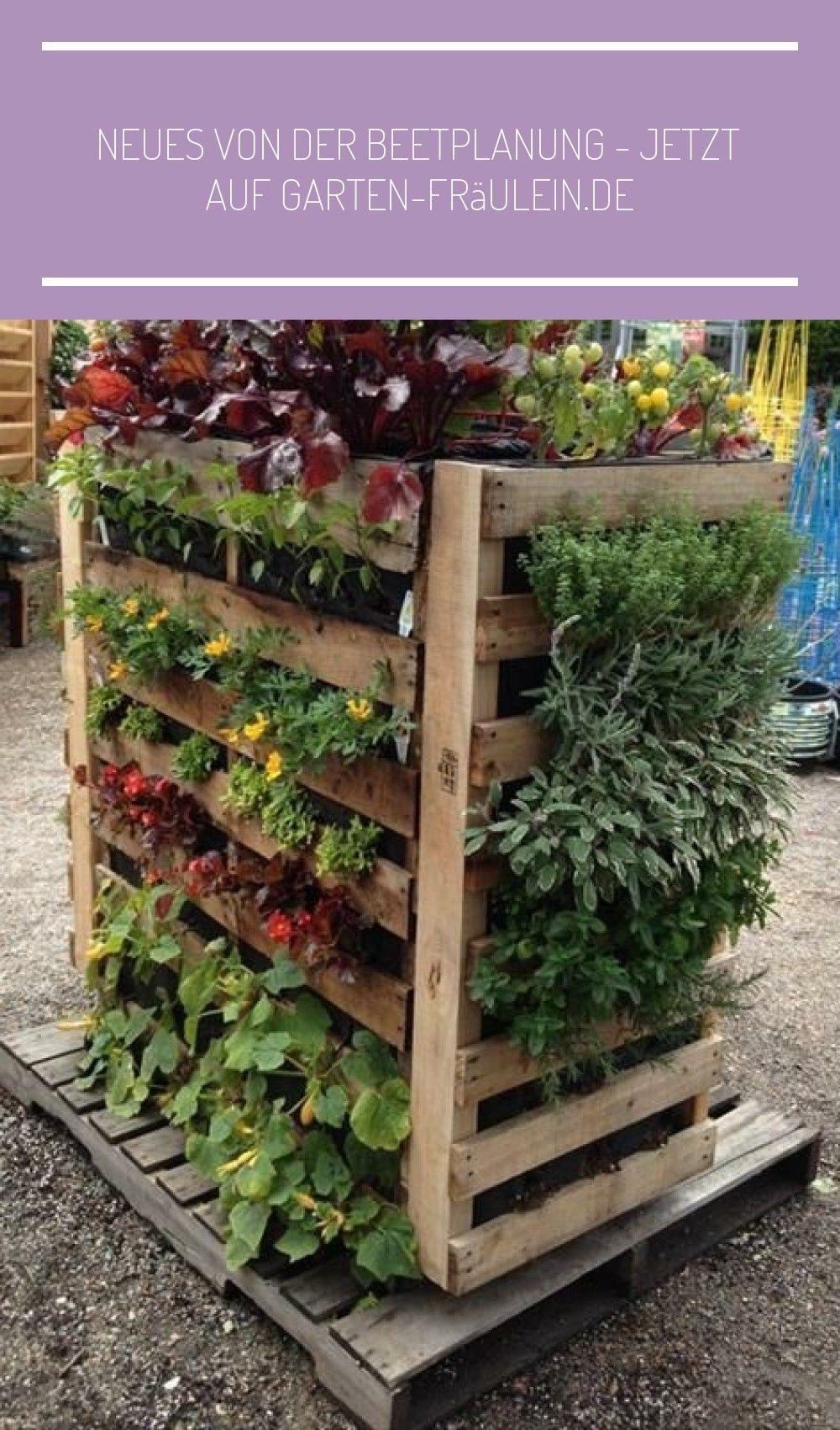 Europaletten Gartendesign Vertikaler Blumenbeet Anlegen Garten Cool Und Diy Ausvertikaler Gart Herb Garden Pallet Vertical Herb Garden Pallets Garden
