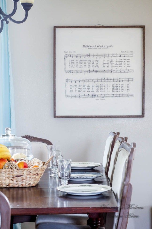 You can definitely make this diy large hymn sheet music art you can definitely make this diy large hymn sheet music art restoration hardware inspired solutioingenieria Image collections