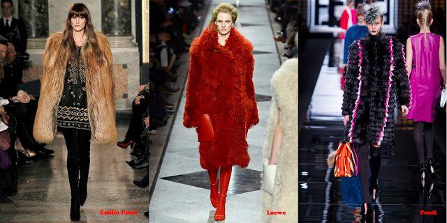 Tendencias mujer otoño/invierno 2013/14 abrigo pelo