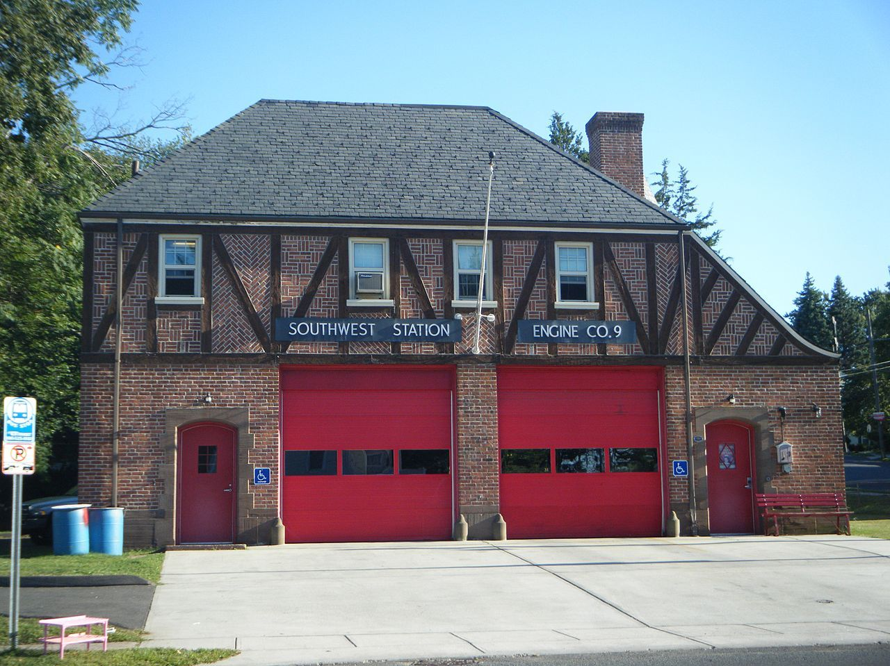 Engine Company 9 Fire Station in Hartford, Connecticut