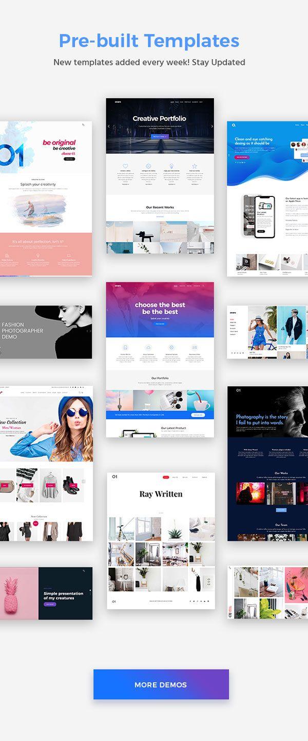 Onero – Creative Portfolio Theme for Professionals