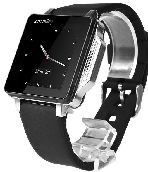 Simvalley Mobile Phone Watch - Black in UAE | Souq | Cool