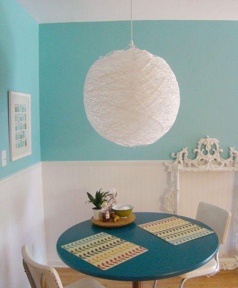 white yarn lamp again ;)