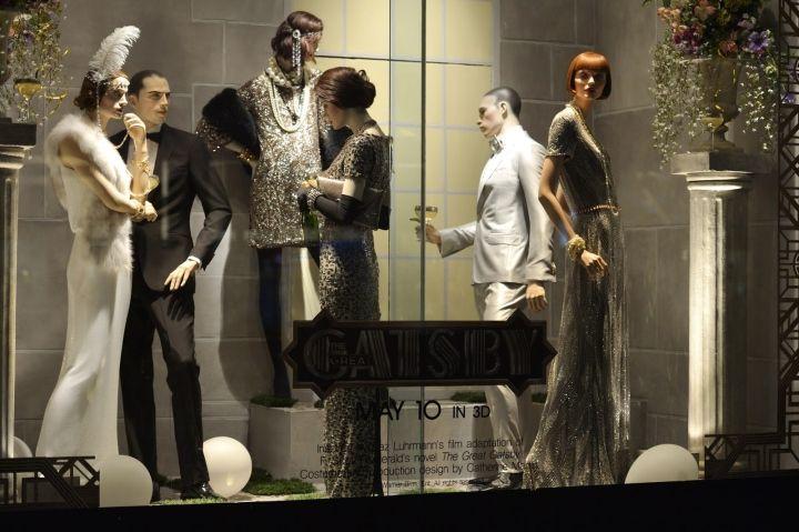 Holt Renfrew Gatsby windows, Toronto – Canada