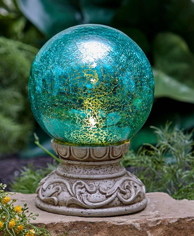 Solar Gazing Balls Gazing Ball Garden Globes Lakeside Collection
