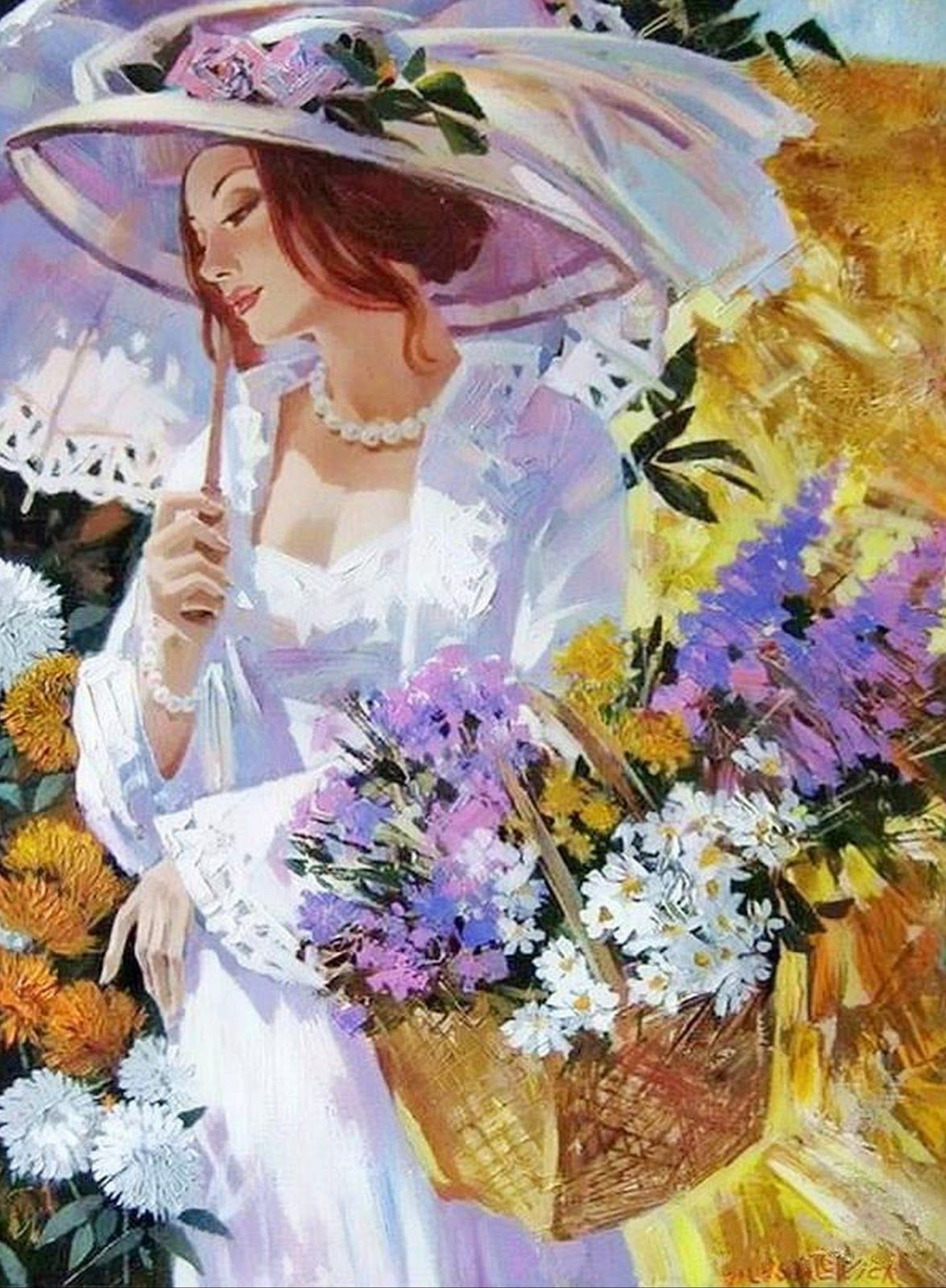 pintura moderna al leo cuadros figurativos al leo