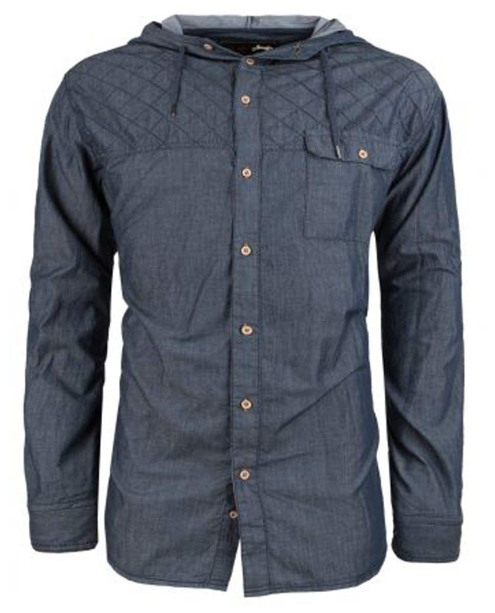 Camisa con Capucha de Manga Larga  8b0fdd7dfda