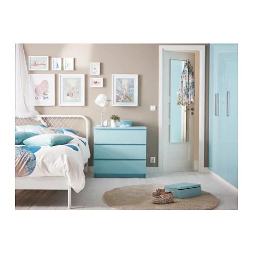 NESTTUN Bed frame white, Luröy Queen Bed frame, Ikea