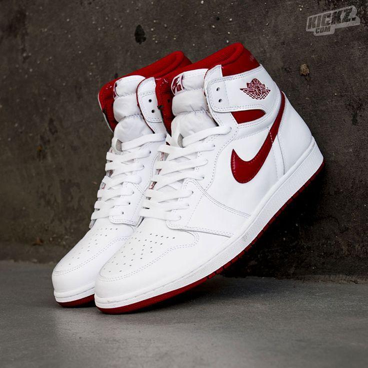 air jordan 1 blanc rouge