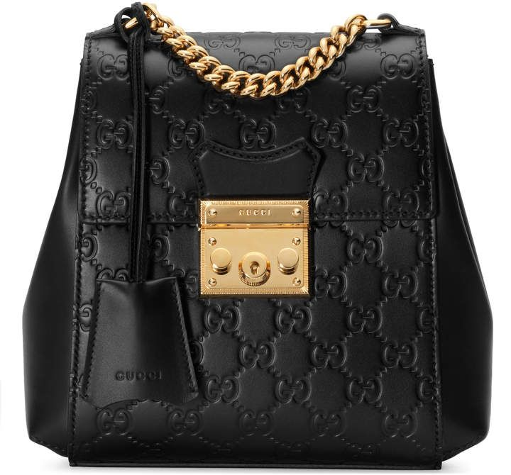 ecfc3c9e5b3ce1 Padlock Gucci Signature backpack #Gucci #purse #ShopStyle #MyShopStyle  click link for more