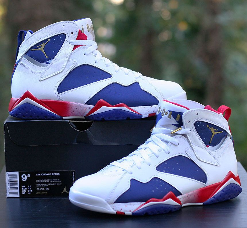 70658d5ce7204c Nike Air Jordan 7 VII Retro Olympics Tinker Alternate 304775-123 Men s Size  9.5  Nike  BasketballShoes