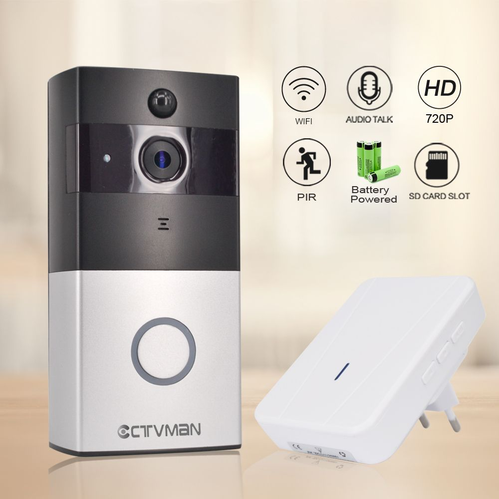 comprar Ctvman IP inalámbrica Cámara PIR video puerta