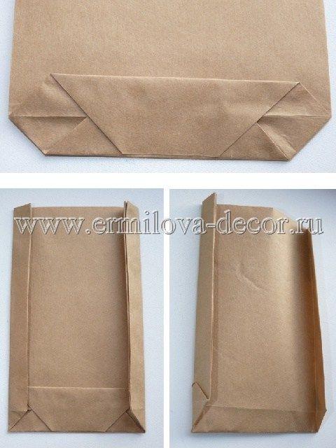 Как сделать бумажные пакетики 12