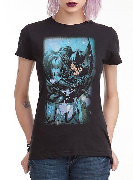 DC Comics Batman Catwoman Girls T-Shirt | Hot Topic