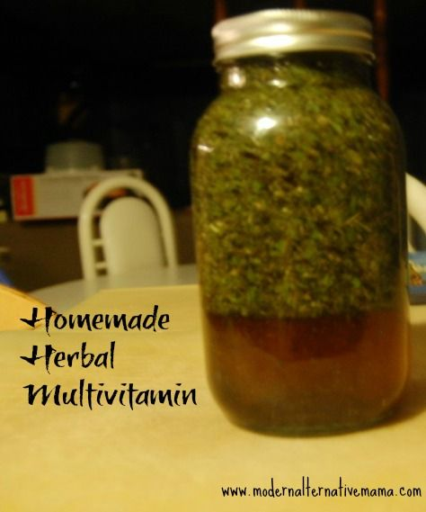 Make your own safe homemade multivitamin with this herbal tincture!
