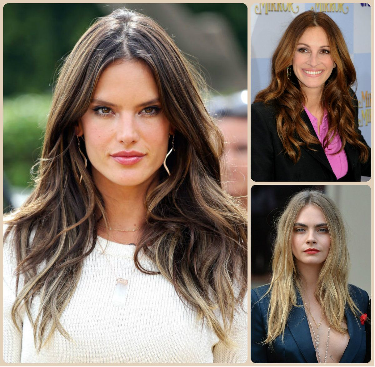 Celebrity sensual long hairstyles Celebrity sensual long
