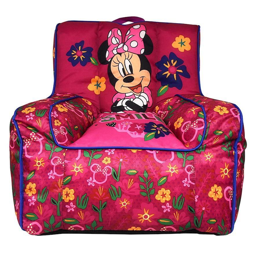 Disney's Minnie Mouse Toddler Bean Bag Chair Toddler