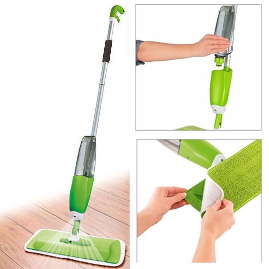 Microfiber Spray Mop Set Floor Cleaning Tool In 2019 Cleaning Tile Floors Clean Microfiber Dustpans Brushes