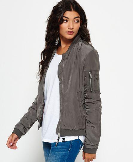 Carrie Bomber Jacket | Bomber jacket women, Flight jacket