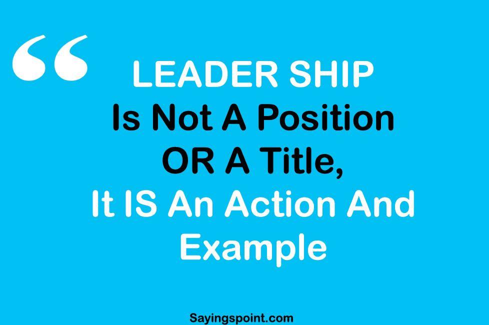 Exceptional Leadership Sayings #sayings #quotes #quoteoftheday #sayingimages #leadership