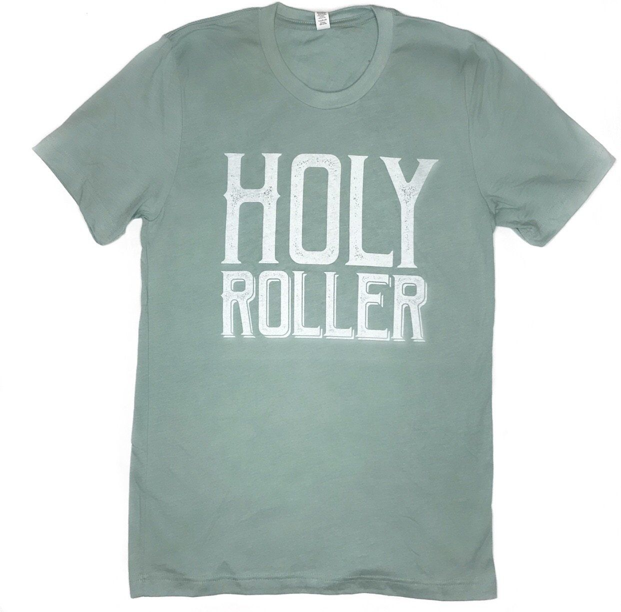 6910a5dbe Holy Roller sea-foam crew neck tee. Extra soft fabric! True to size fit and  comes in Small - 2XL.