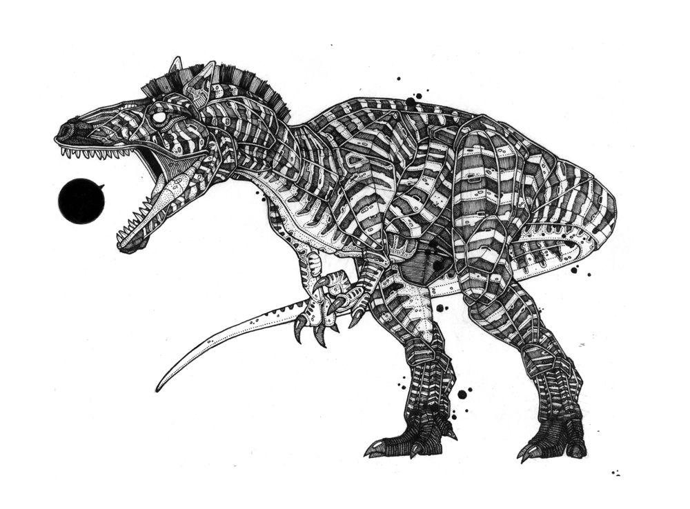 Nicholas Di Genova | Zebrasaur
