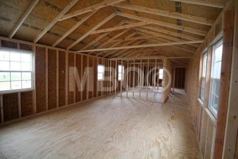 16X54 UTILITY CABIN Garages, Barns, Portable Storage