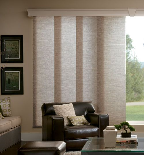 Bali® Sliding Panels: Light Filtering Textures & Patterns | Blinds on