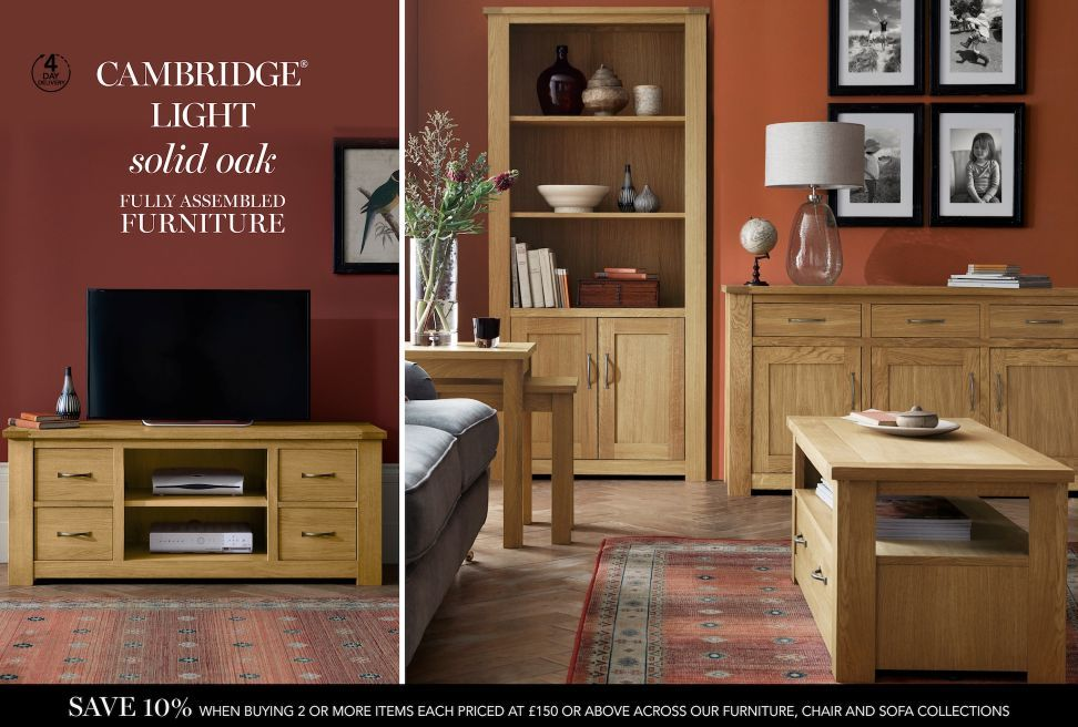 buy cambridge® light coffee table from the next uk online shop