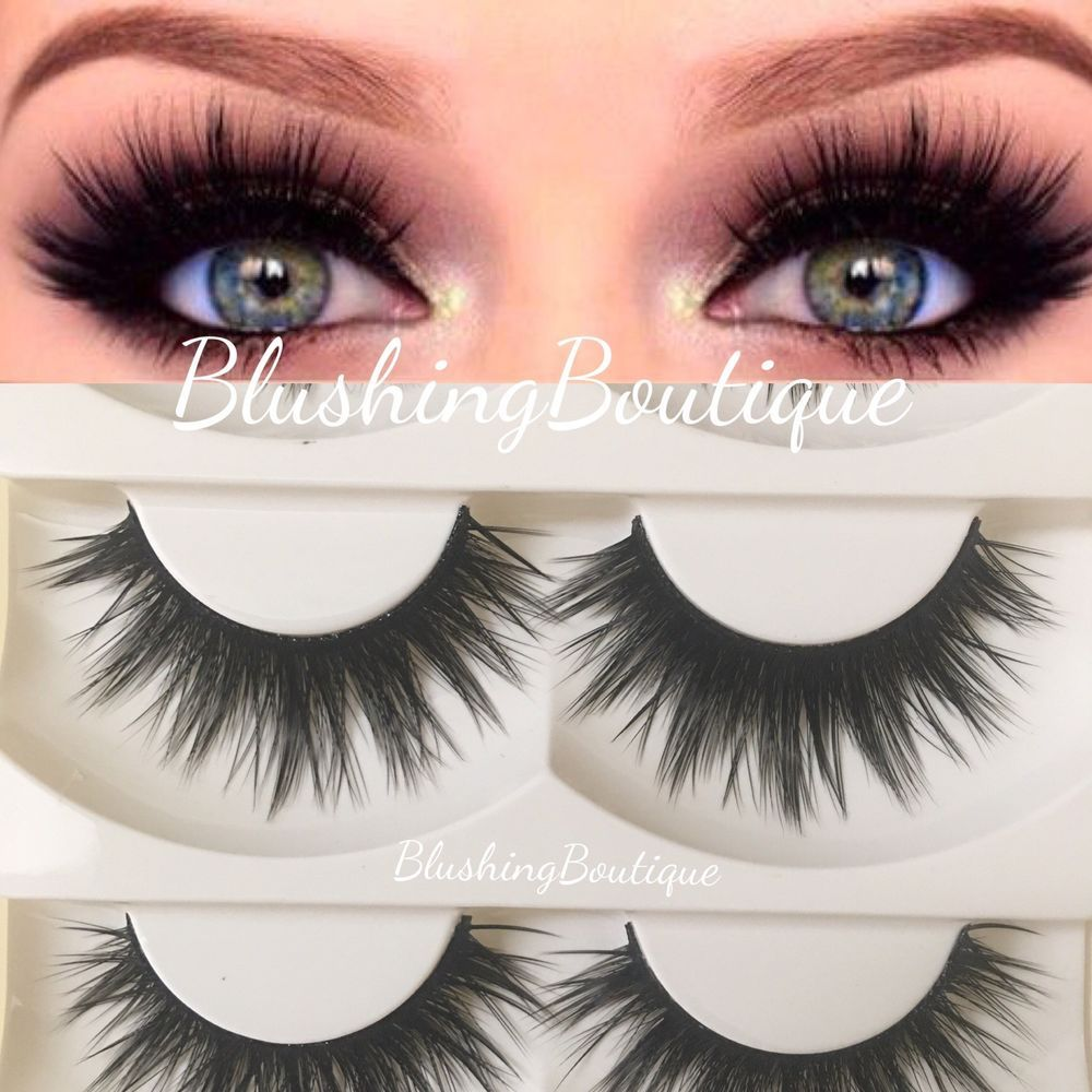 dcbdcfd97e1 5pairs Silk Faux Mink Lashes Goddess Doll Iconic Eyelashes ✅Free Ship🌸US  Seller #Unbranded