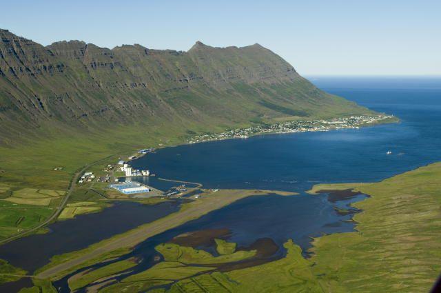 Fiordo de Neskaupstaður #Islandia