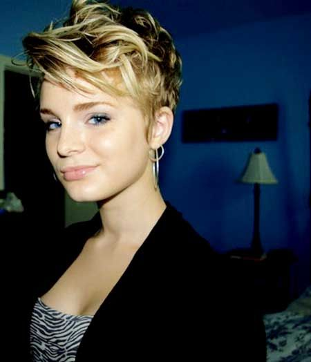 Shaved Sides Long Pixie