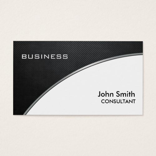 Professional elegant metal black white groupon business card professional elegant metal black white groupon business card colourmoves