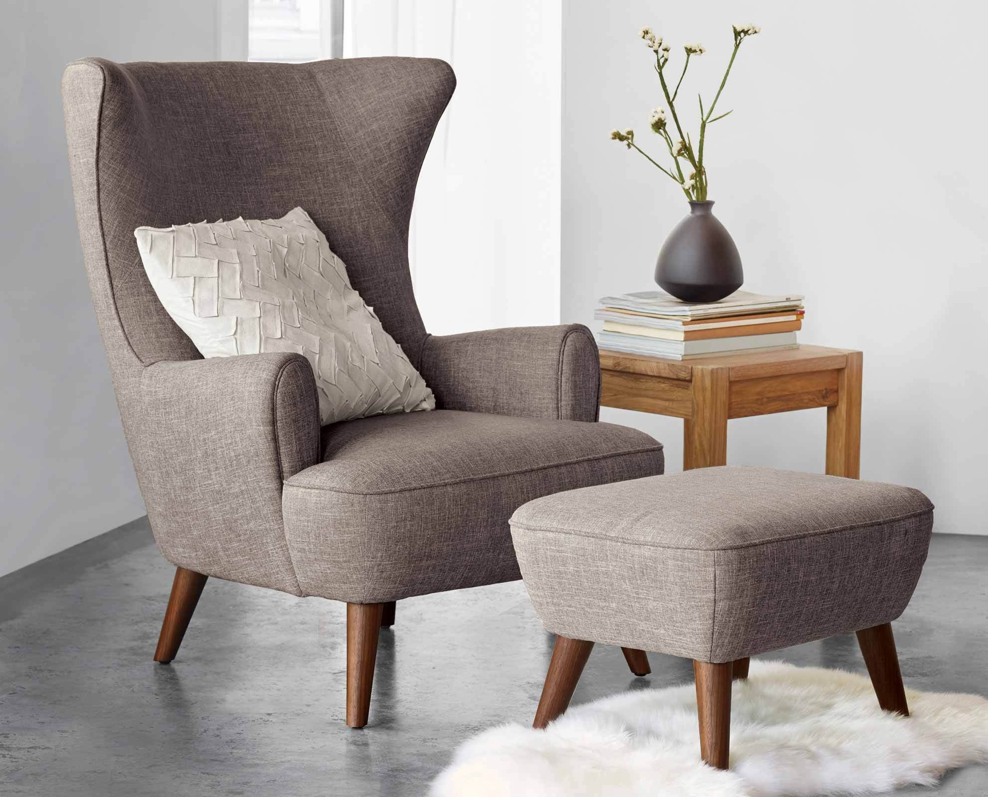 Katja High Back Chair Browndania Furniturewith An Overall Gorgeous High Back Living Room Chair Design Decoration