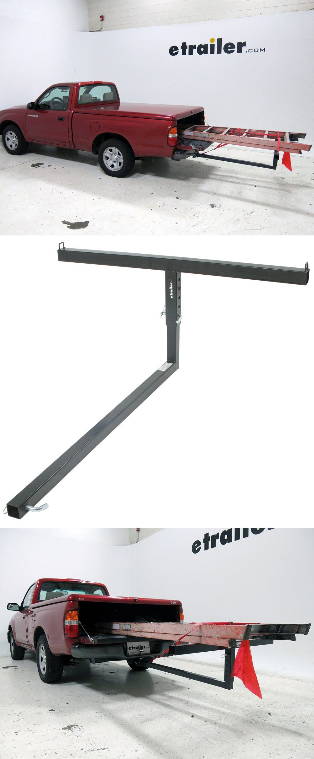Trailer Hitch Luggage Rack Darby Extendatruck Hitch Mounted Load Extender  Roof Or Truck Bed