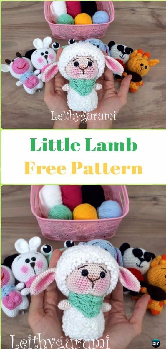 Michelle Crochet Passion: Amigurumi Little Sheep Free Pattern ...