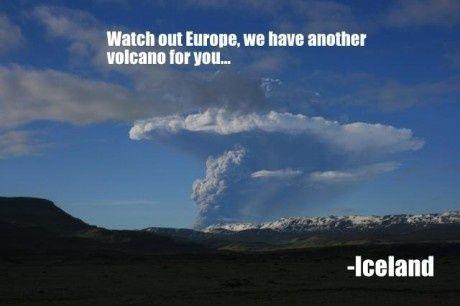 En ny vulkan i Island.