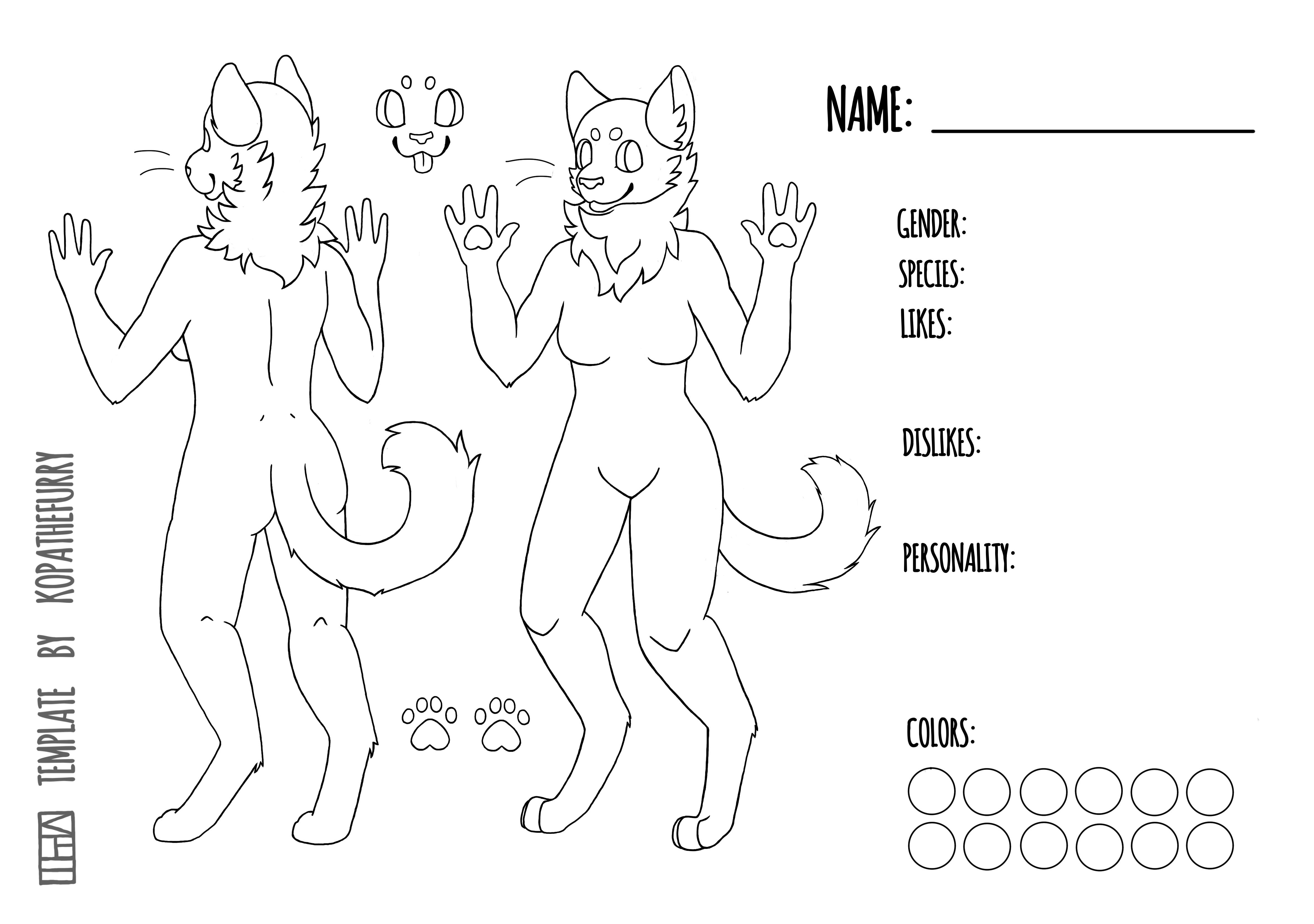 Free Female Feline Template Base By Kopathefurry Da97c0m Png 4718 3320 Cat Furry Furry Drawing Furry Art