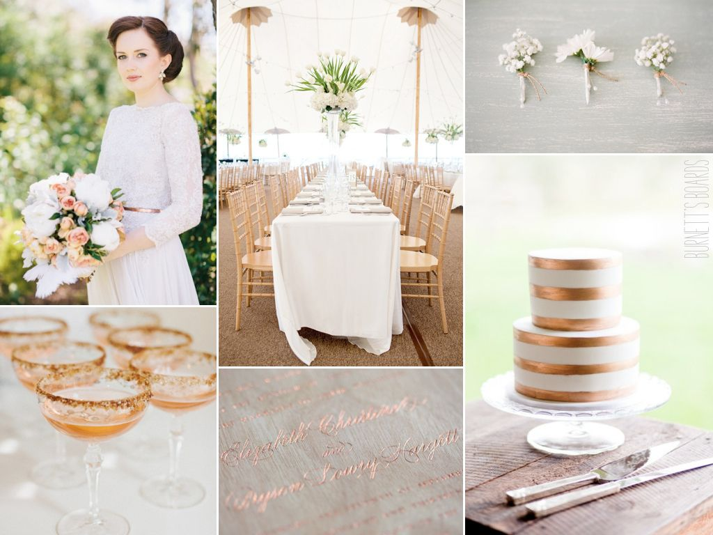 classic copper Classic weddings Weddings and Wedding