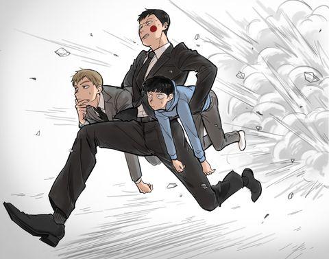「【腐】モブログ2」/「のまち」の漫画 [pixiv] Mob Psycho 100