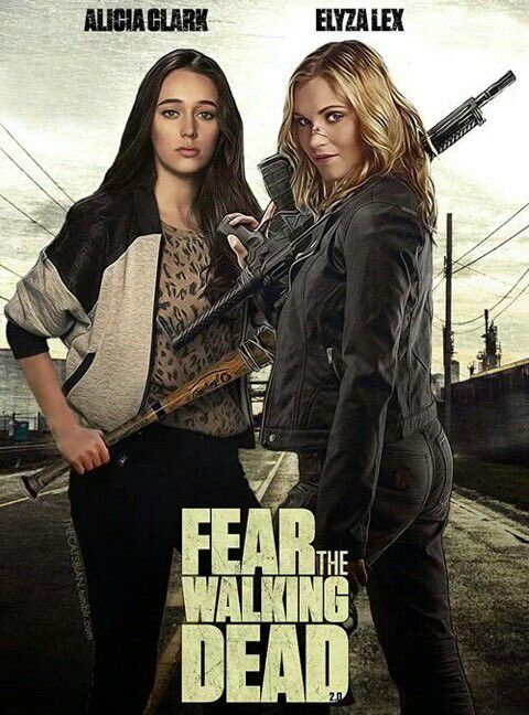 Crossover Ftwd Meets The 100 In 2019 The Walking Dead