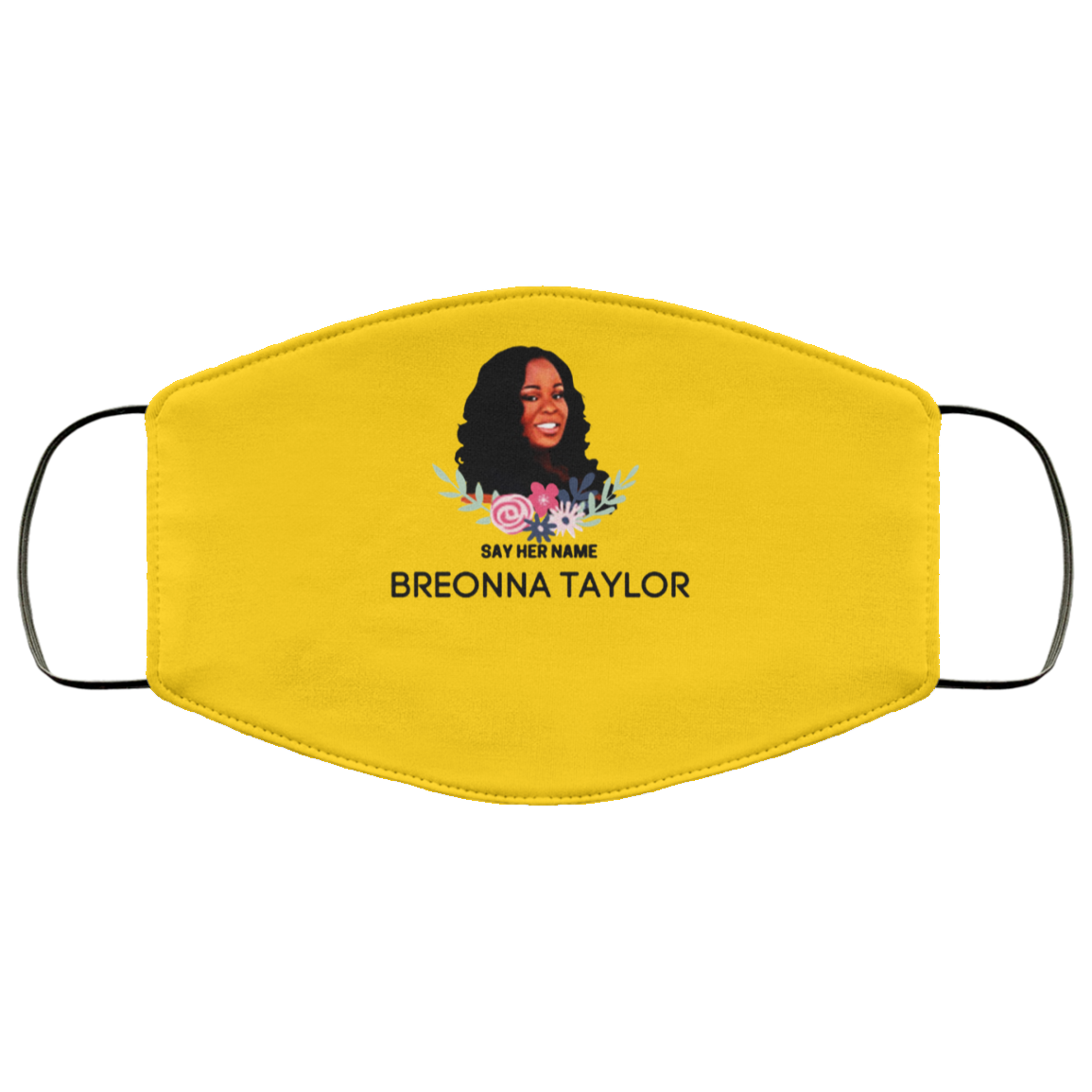 Say Her Name Breonna Taylor Face Masks Be Kind Asl In 2020 Face Mask Say Her Name Sunglasses Case