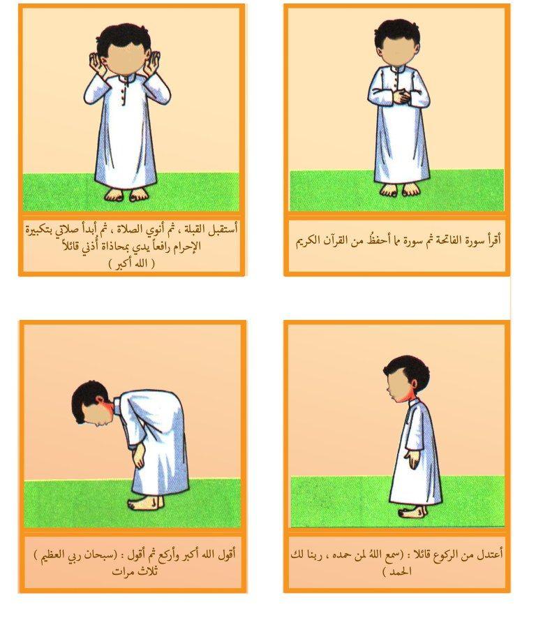 درس نموذجي لتعليم الأطفال في مرحلة الطفولة المبكرة الصلاة مطور Islamic Kids Activities Islam For Kids Teacher Thank You Cards