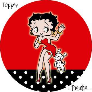 Kit Imprimible GRATIS Betty Boop