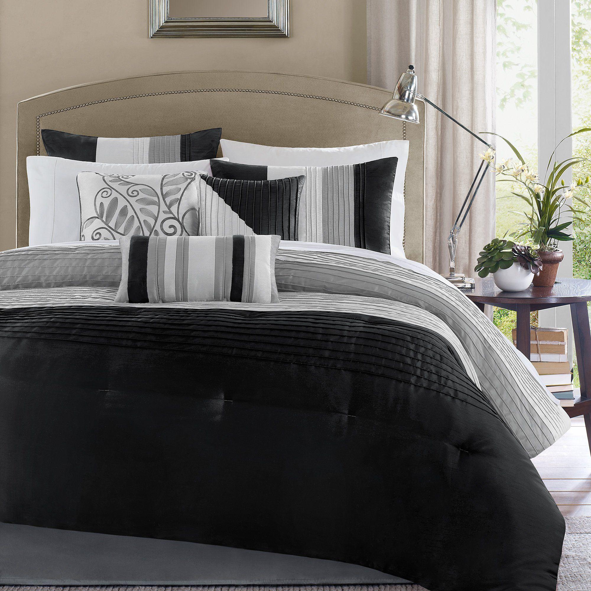 Morell 7 Piece Reversible Comforter Set Bedding sets