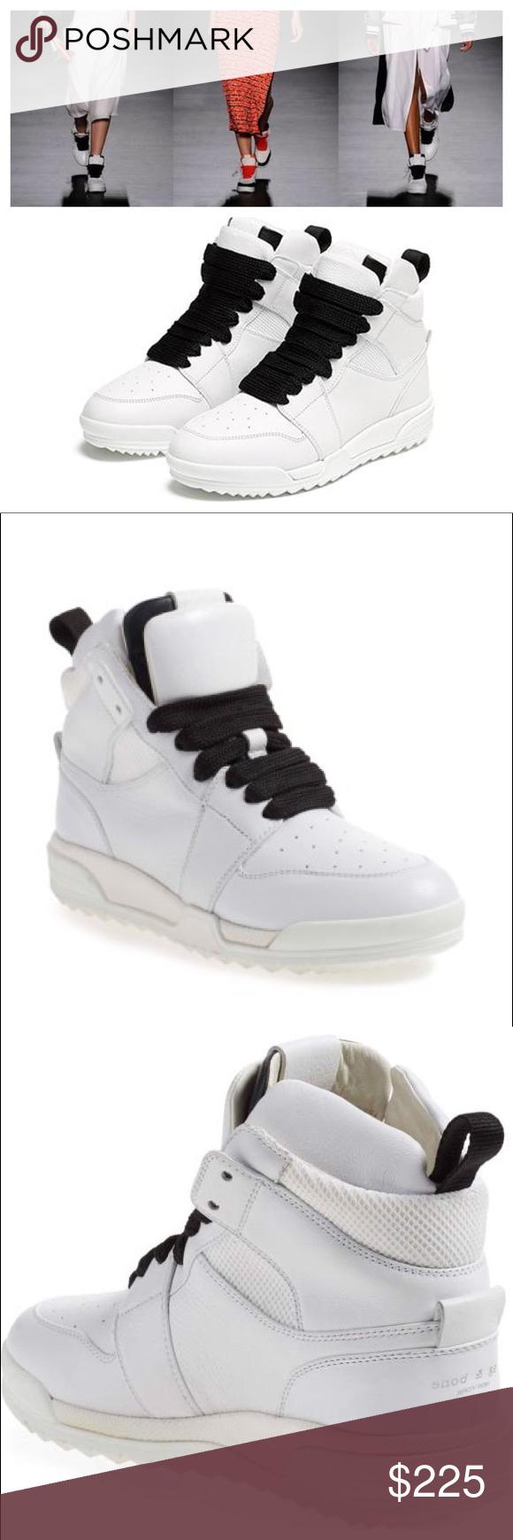 Rag \u0026 Bone Korban leather high top trainers
