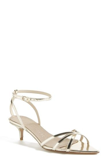 Burberry Ackley Pointy Toe Sandal Women With Images Womens Sandals Gold Kitten Heels Toe Sandals