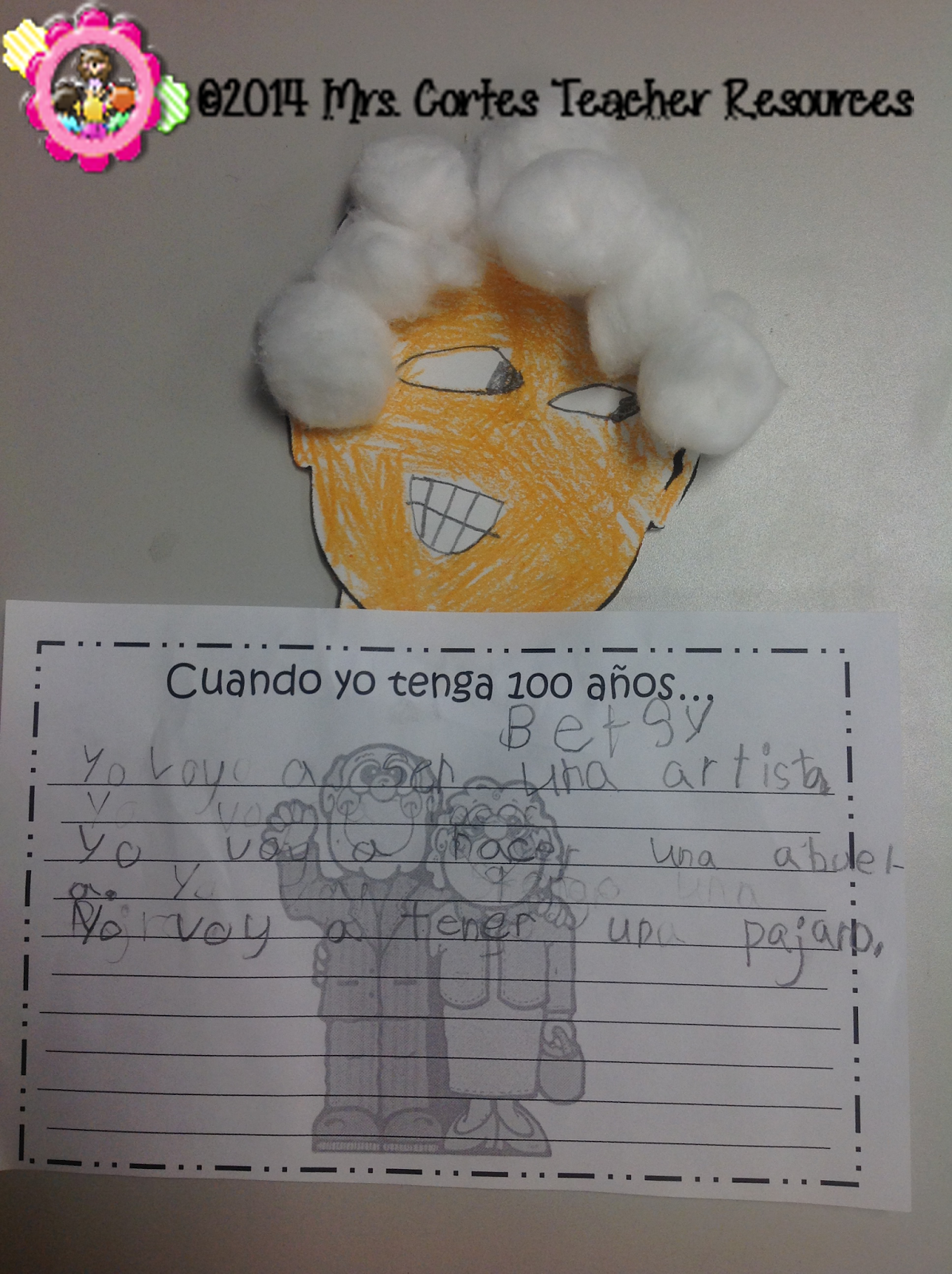 100th Day Of School Writing Prompt English And Spanish